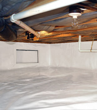 crawl space repair system in Charlottetown