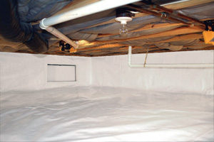 Crawl Space Repair After in Halifax