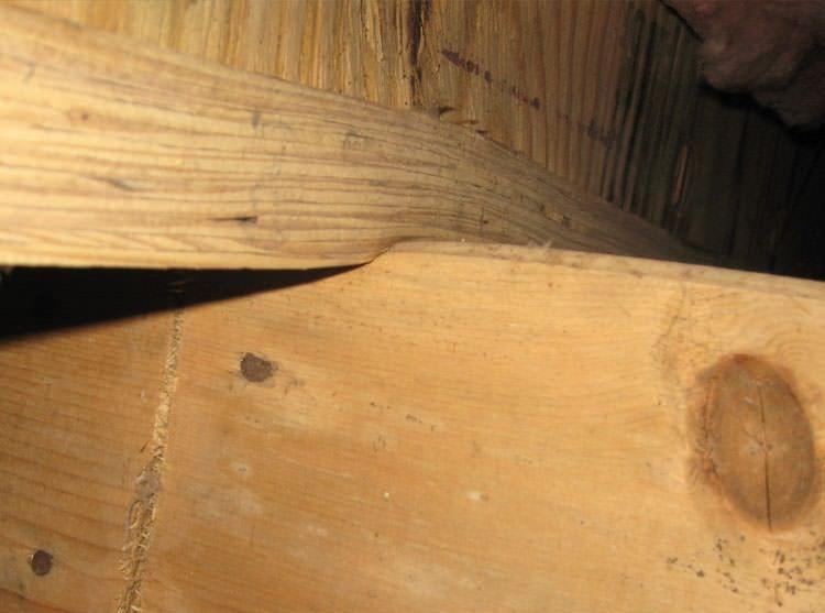 Sagging Crawl Space Repair In Moncton Halifax