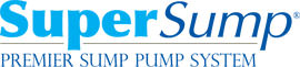 Logo for our SuperSump® Pump System, available in Dartmouth and other parts of Nova Scotia, New Brunswick
