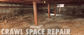 Ridgeback Basement Systems are the crawlspace repair experts!