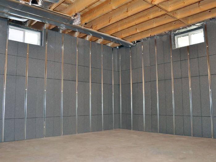 Complete your basement with our Basement to Beautiful wall system