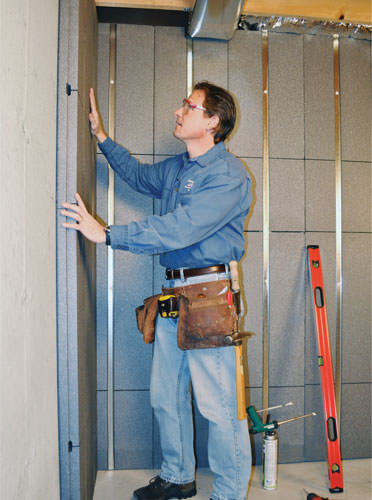 Complete your basement with our Basement to Beautiful wall system - Image 2