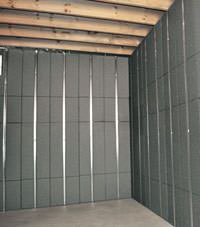 Thermal insulation panels for basement finishing in Fredericton, Nova Scotia & New Brunswick