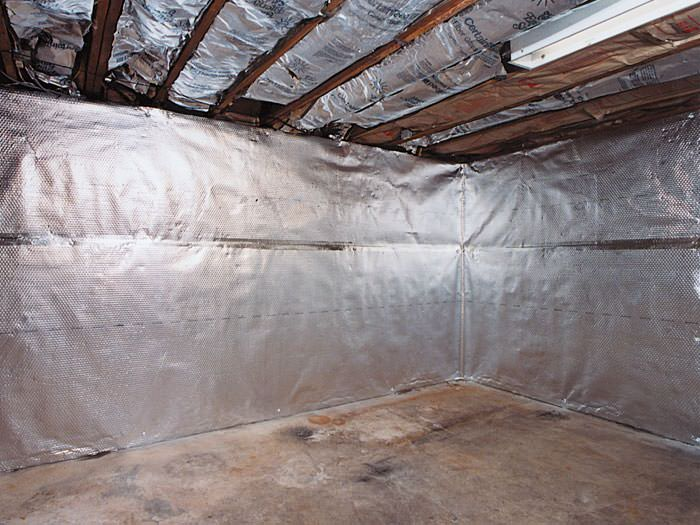 Thermaldry Basement Radiant Wall Barrier In Moncton